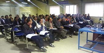 برگزاری دوره آموزشی استادکاران تاسیساتی در مراغه