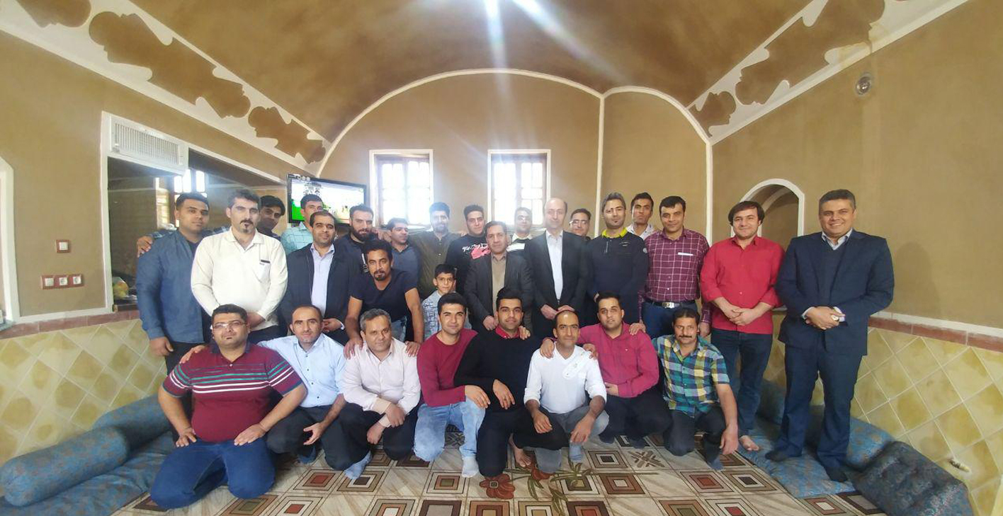 برگزاری اردوی تفریحی پرسنل خط تولید شرکت یزد پوش فیت از گروه صنعتی یزدلوله