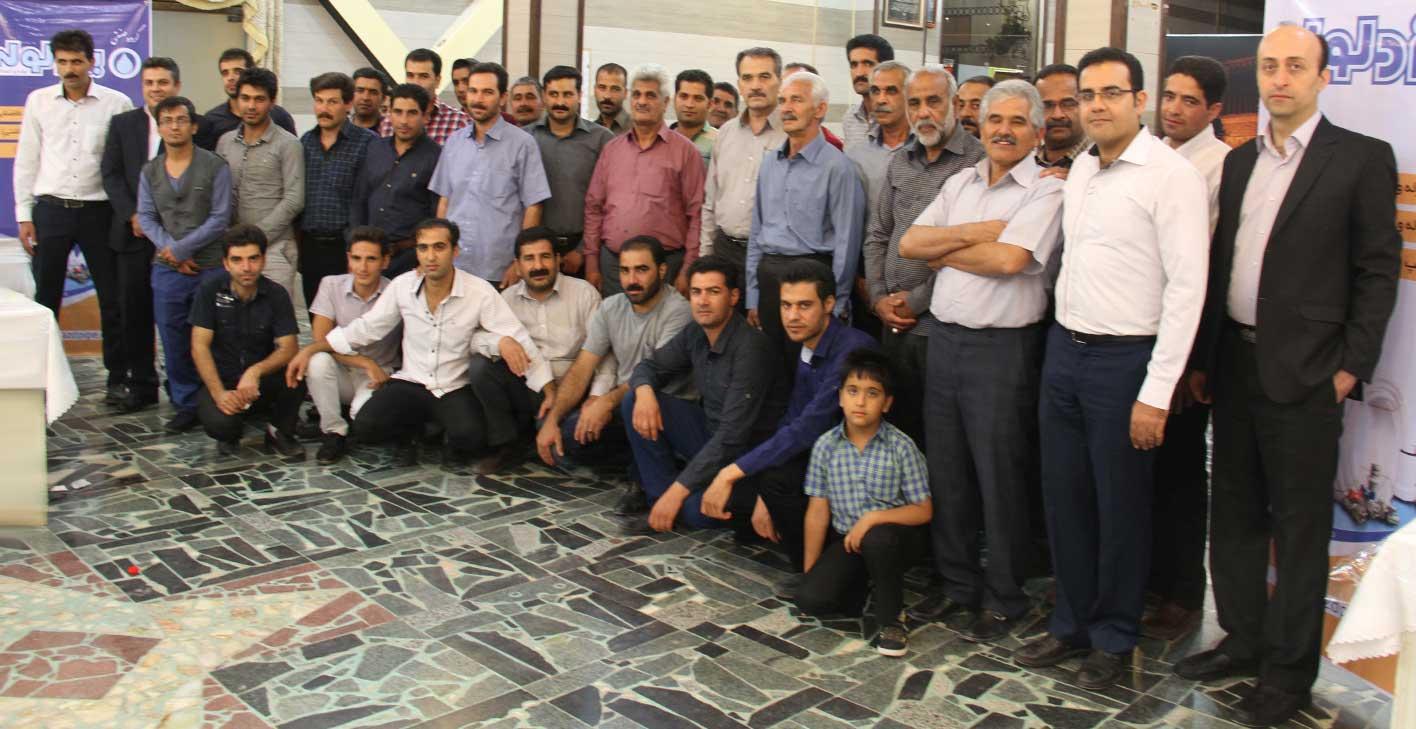 برگزاری گردهمایی ماه مبارک رمضان در شهرستان تفت